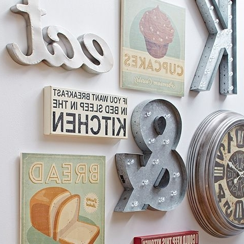 Cool Kitchen Wall Art Within Most Recent Brilliant Art Pieces For Your Walls Sponsorednordstrom Rack (View 1 of 15)