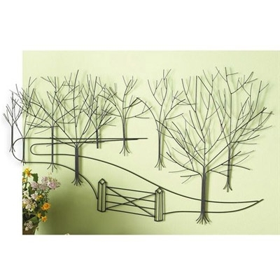 Country Lane Metal Wall Art (View 13 of 15)