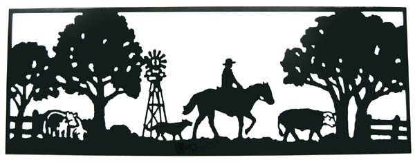 Country Metal Wall Art In Best And Newest Wall Art Ideas Design : High Quality Country Metal Wall Art Product (View 6 of 15)