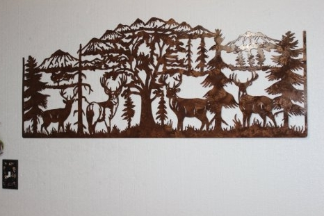 Country Metal Wall Art Regarding Fashionable Wall Art Ideas Design : Popular Very Country Metal Wall Art Product (View 2 of 15)