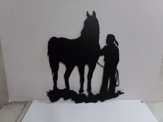 Featured Photo of Western Metal Wall Art Silhouettes