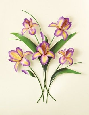 Craft Within Latest Purple Flower Metal Wall Art (View 5 of 15)