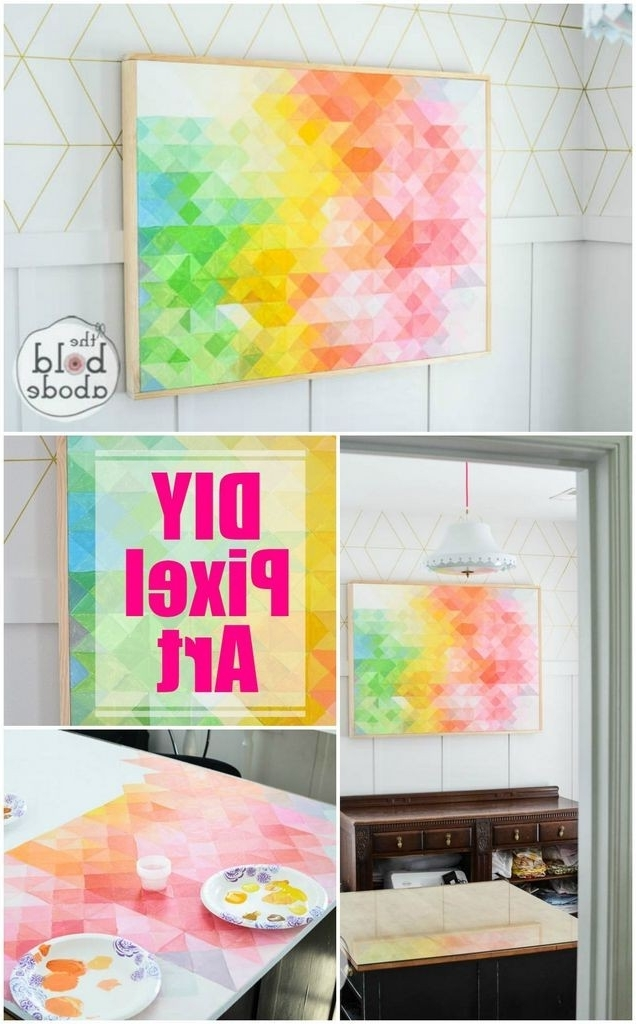 Craftionary With Recent Diy Abstract Wall Art (View 1 of 15)