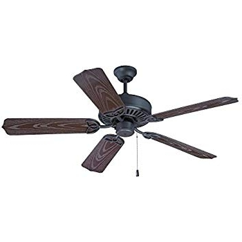 "Craftmade Opxl52Br, Outdoor Patio Fan Brown 52"" Outdoor Ceiling Fan With Regard To Well Liked Craftmade Outdoor Ceiling Fans Craftmade (View 3 of 15)"