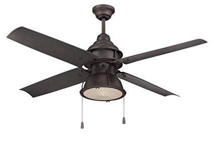 Craftmade Par52Esp4 Port Arbor, Espresso 52 Inch Outdoor 4 Blade Intended For Current Craftmade Outdoor Ceiling Fans Craftmade (View 5 of 15)