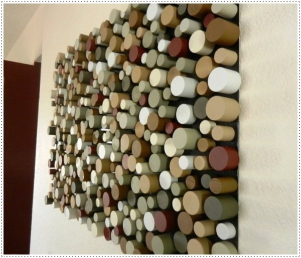 Cubes 3D Wall Art With Regard To Most Up To Date 45 Easy To Make Wall Art Ideas For Those On A Budget (View 3 of 15)