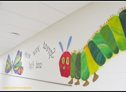 Current 2018 Popular The Very Hungry Caterpillar Wall Art, The Very Hungry Intended For The Very Hungry Caterpillar Wall Art (View 14 of 15)