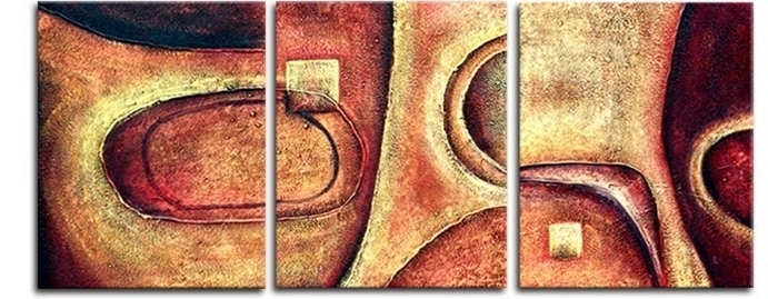 Current 3 Piece Wall Art – Affordable Canvas Art Sets – Free Shipping Throughout Affordable Abstract Wall Art (View 8 of 15)