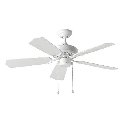 Current 42 Inch Outdoor Ceiling Fans Regarding Sea Gull Lighting 1525 15 Bayou 42 Inch, Five Blade Outdoor Ceiling (View 2 of 15)