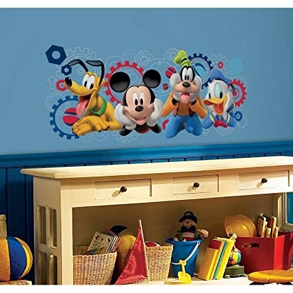 Featured Photo of Mickey Mouse Clubhouse Wall Art