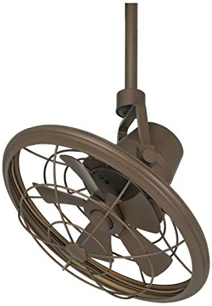 "Current Casa Vieja Outdoor Ceiling Fans Regarding 18"" Casa Vieja Oil Rubbed Bronze Damp Location Ceiling Fan – Outdoor (View 9 of 15)"