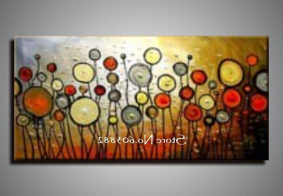 Current Cheap Abstract Wall Art Pertaining To Discount 100 Handmade Large Canvas Wall Art Abstract Painting On  (View 12 of 15)