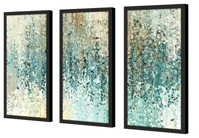 Current Cheap Wall Art Sets Pertaining To Canvas Wall Art Sets Of 3 Set Of 3 Canvas Wall Art 3 Piece Framed (View 5 of 15)