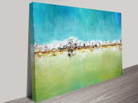 Current City Skyline Abstract Canvas Wall Art Australia Inside Abstract Canvas Wall Art Australia (View 4 of 15)