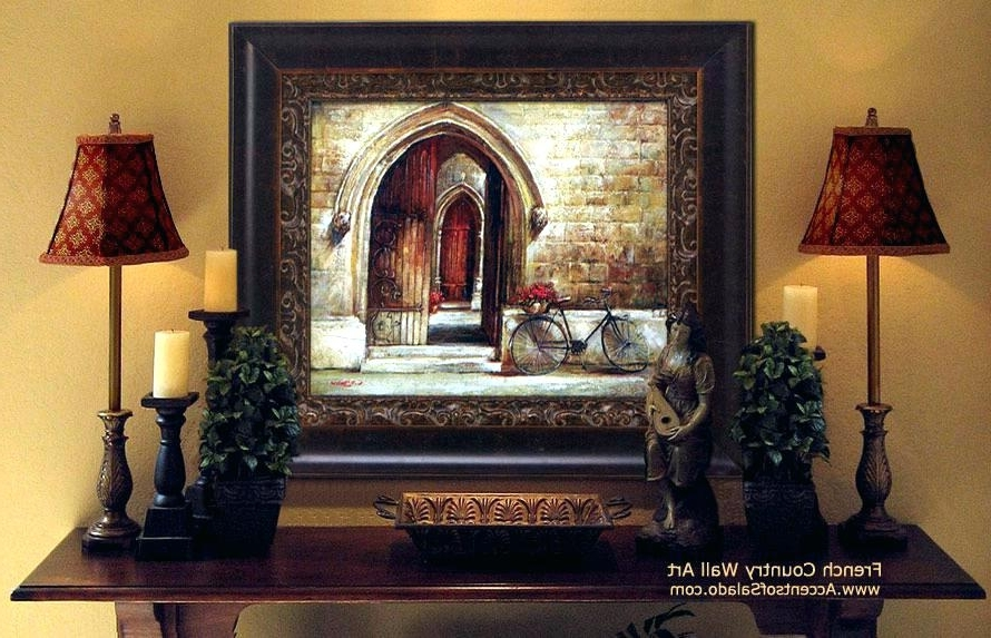 Current Country French Wall Art Within Country Style Wall Art French Wall Decoration Wall Art Designs (View 5 of 15)