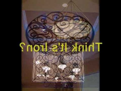 Current Faux Wrought Iron Wall Art In Faux Iron Interior Design Projects – Youtube (View 9 of 15)
