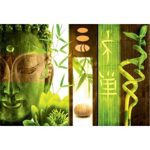 Current Green Canvas Wall Art Within Outdoor Canvas Wall Art – Green Buddha : Buy Outdoor Canvas Wall Art (View 10 of 15)
