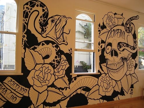Current Innovation Ideas Tattoo Wall Art – Ishlepark With Tattoos Wall Art (View 10 of 15)