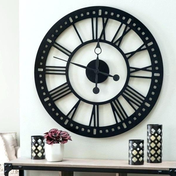 Current Large Art Deco Wall Clocks Pertaining To Art Deco Wall Clocks For Sale Home Accessories A Clocks A Wall (View 2 of 15)