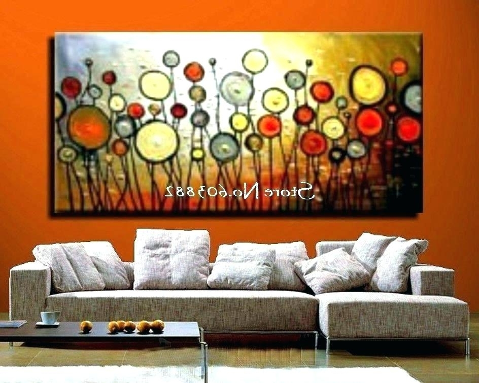 Current Large Canvas Wall Art Sets In Giant Canvas Wall Art Large Canvas Art Oversized Abstract Art (View 7 of 15)