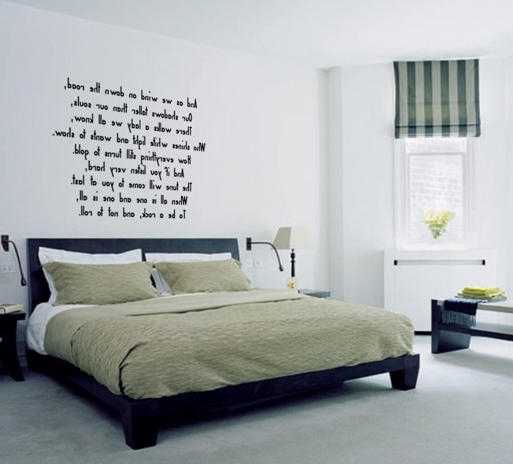 Current Led Zeppelin 3D Wall Art With Stairway To Heaven (Led Zeppelin) Lyric Wall Decal Sticker Quote (View 4 of 15)
