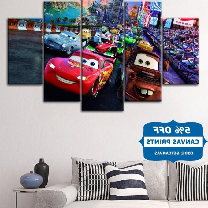 Current Lightning Mcqueen Wall Art In 20 Best Collection Of Lightning Mcqueen Wall Art Wall, Disney Cars (View 10 of 15)