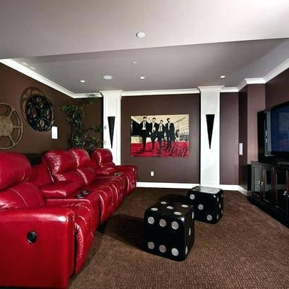 Current Media Room Wall Art Pertaining To Media Room Wall Decor Theater Home Theatre Decorating Ideas (View 8 of 15)