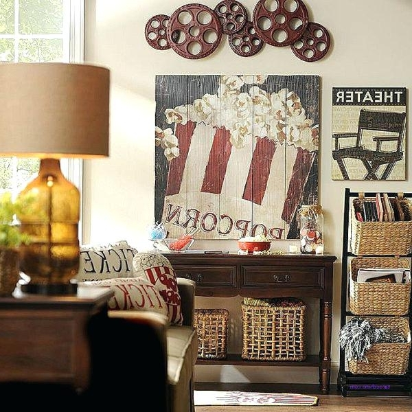 Current Media Room Wall Art With Media Room Wall Decor New Best Ideas On Art – Flavourfreaks (View 5 of 15)