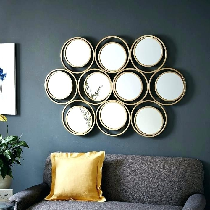Current Mirror Circles Wall Art Within Circle Mirror Wall Art Circle Mirror Set Medium Size Of Round Mirror (View 8 of 15)