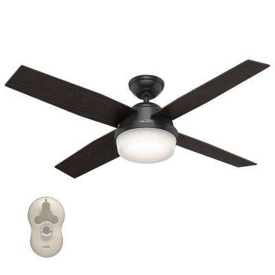 Current Modern – Outdoor – Black – Ceiling Fans – Lighting – The Home Depot Regarding Modern Outdoor Ceiling Fans With Lights (View 3 of 15)