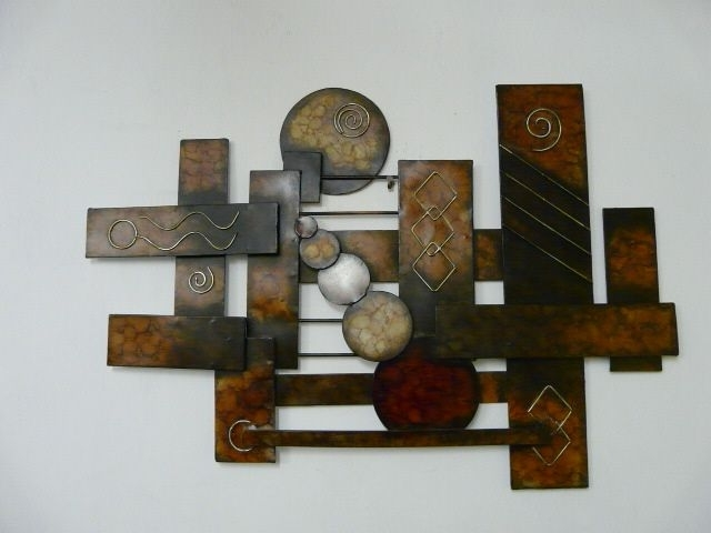 Current Modern Outdoor Metal Wall Art Contemporary Metal Wall, Abstract With Regard To Abstract Outdoor Wall Art (View 10 of 15)