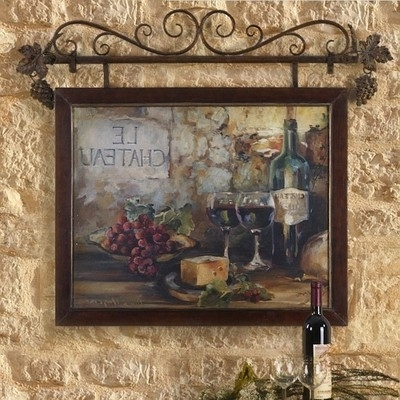Current Old World Italian Style Tuscan Wall Art Mediterranean Wall Decor Within Tuscan Wall Art Decor (View 2 of 15)