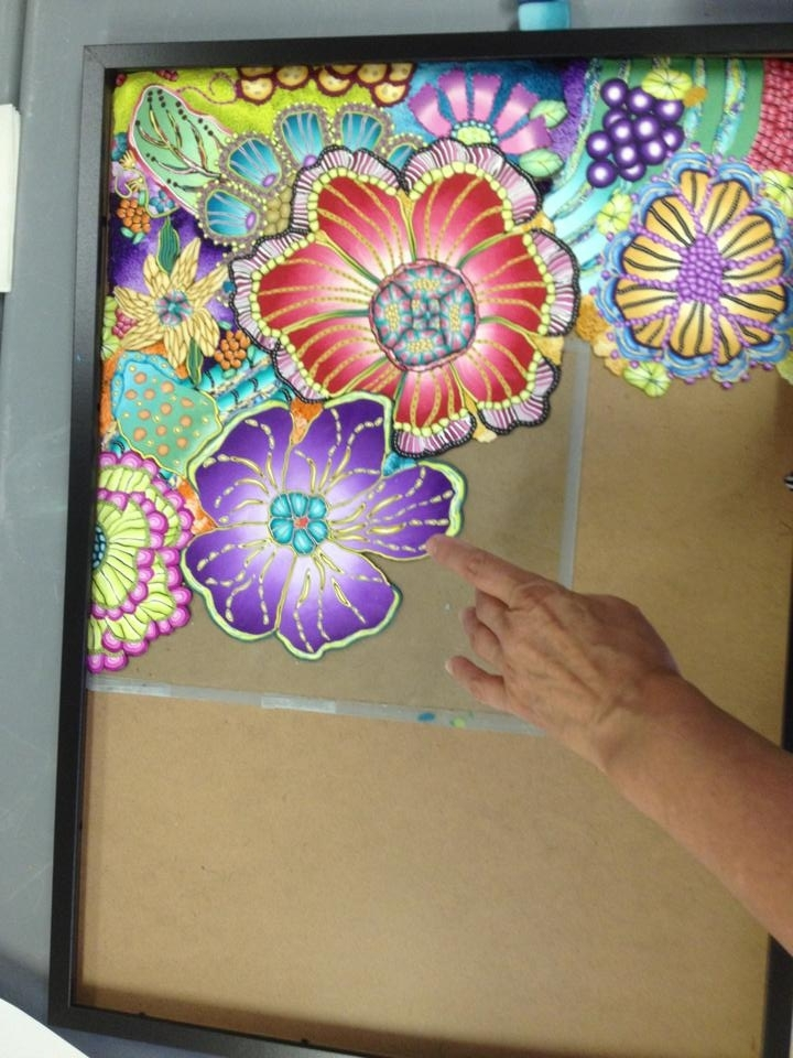 Current Polymer Clay Wall Art With Regard To Wall Art Designs: 10 Marvelous Ways To Install Polymer Clay Wall Art (View 2 of 15)