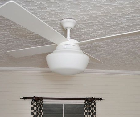 Current Schoolhouse Light Ceiling Fan 2018 Ceiling Fan Light Kit Outdoor Inside Outdoor Ceiling Fans With Schoolhouse Light (View 2 of 15)