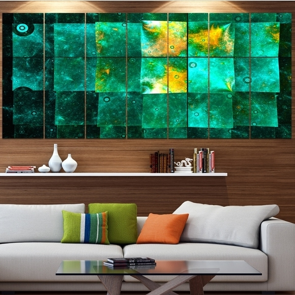 Current Shop Designart 'astrological Space Map' Abstract Wall Art Canvas throughout Overstock Abstract Wall Art