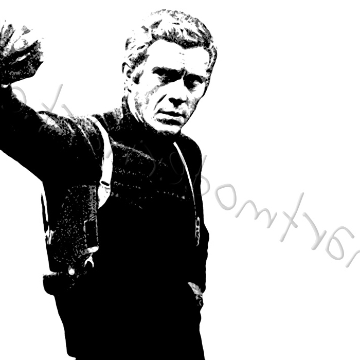 Current Steve Mcqueen Canvas Art With Steve Mcqueen Wall Art (View 1 of 15)