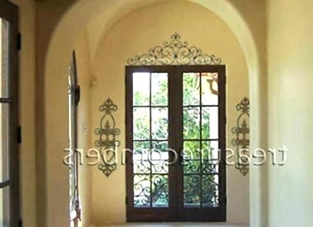 Current Tuscan Metal Wall Art Wall Arts Large Wall Art Wrought Iron Wall Art With Regard To Tuscan Wrought Iron Wall Art (View 15 of 15)