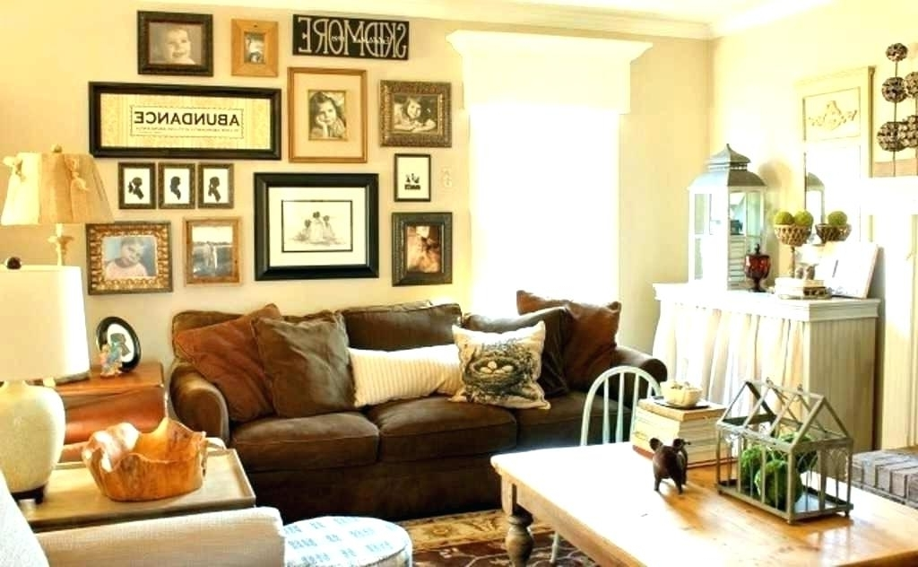 Current Wall Art Decor For Family Room With Regard To Family Room Wall Art Design Inspiration How To Decorate A Living (View 2 of 15)