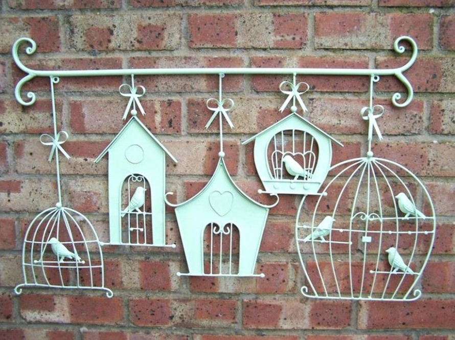 Current Wrought Iron Garden Wall Art Throughout Trendy Wrought Iron Wall Decor Hobby Lobby Rod Iron Wall Art (View 3 of 15)