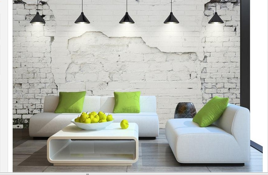 Customized 3D Wallpaper 3D Wall Murals Wallpaper Contemporary And For Fashionable Contemporary 3D Wall Art (View 7 of 15)