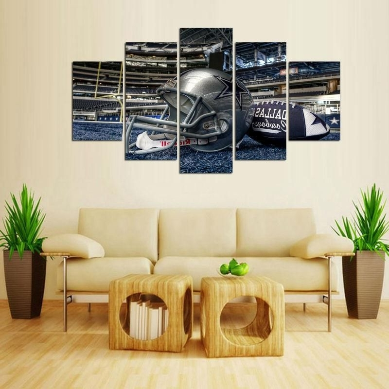 Dallas Cowboys Canvas 5 Pieces Wall Art Limited Edition (View 13 of 15)