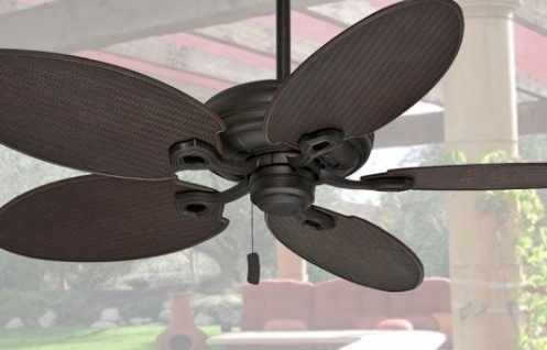 Damp Rated Outdoor Ceiling Fans Inside 2018 Outdoor Ceiling Fans Choose Wet Rated Or Damp Rated For Your Space (View 7 of 15)