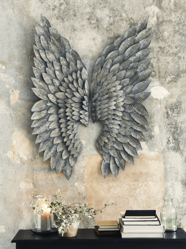 Dazzling Design Inspiration Angel Wings Wall Art Home Remodel Fancy With Most Recent Angel Wings Sculpture Plaque Wall Art (View 4 of 15)