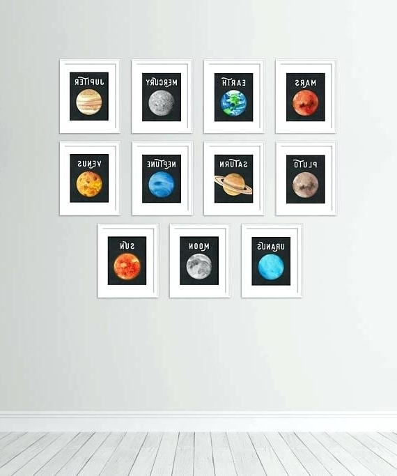 Decorating 3D Solar System Wall Art Decor – Lookbooker Intended For Well Known 3D Solar System Wall Art Decor (View 15 of 15)