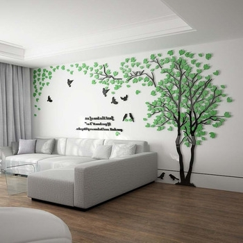 Decorative 3D Wall Art Stickers In Well Liked 3D Wall Decals & Stickers, Modern Wall Art Decor – Homerises (View 4 of 15)