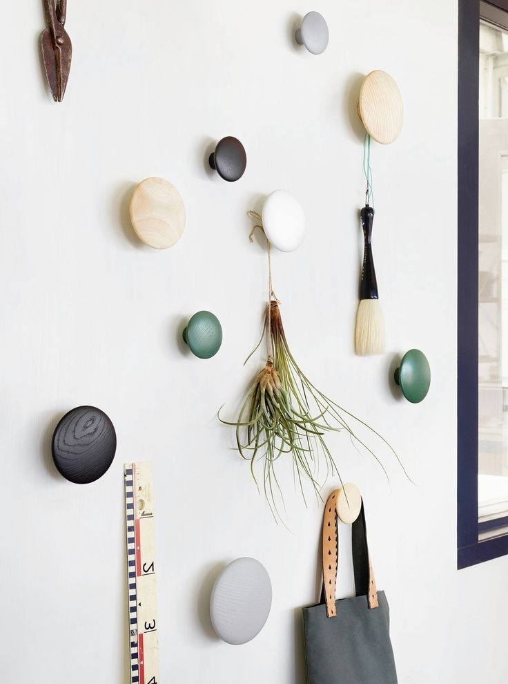 Decorative Coat And Hat Hooks Decorative Coat Hangers Wall More Pertaining To Most Recently Released Wall Art Coat Hooks (View 2 of 15)
