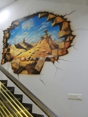 Featured Photo of 3D Artwork On Wall