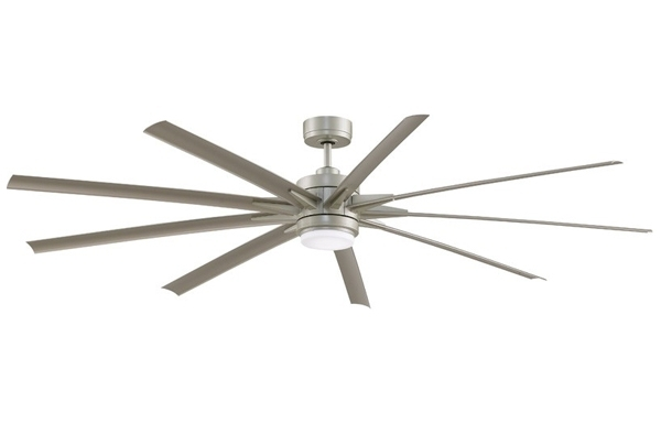 Delmarfans Inside Well Known 72 Inch Outdoor Ceiling Fans With Light (View 3 of 15)