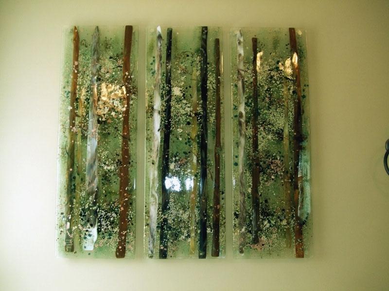 Designer Glass Mosaics (View 7 of 15)