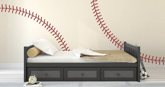 Dezign With A Z For Most Recently Released Baseball 3D Wall Art (View 12 of 15)
